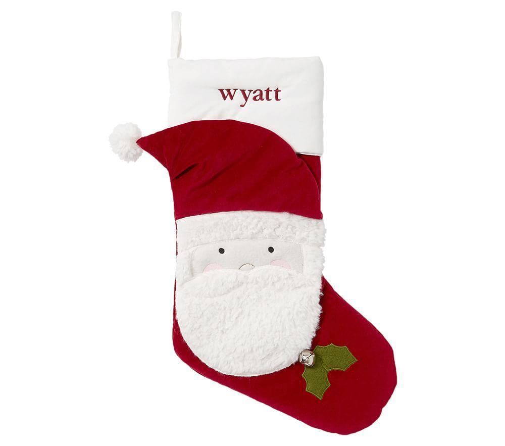 Santa Luxe Velvet Stocking