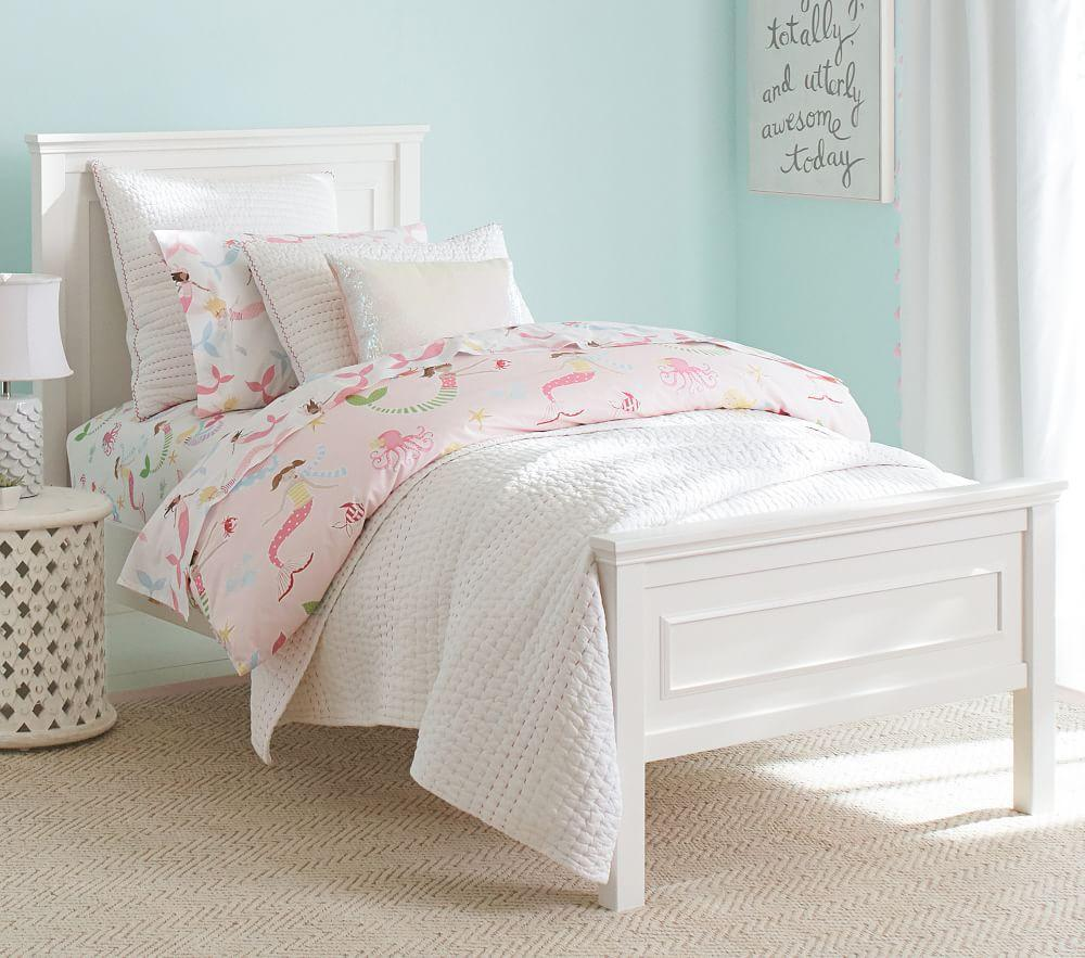 Fillmore Low Footboard Bed - Simply White