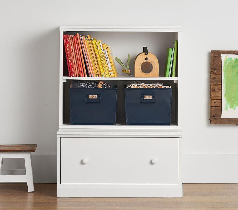 Cameron Bookcase Cubby & Drawer Base Set