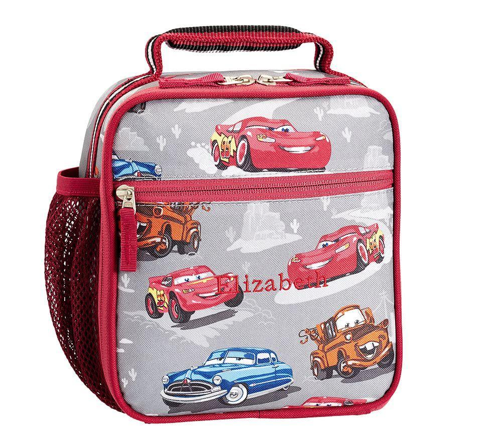 Mackenzie Grey Disney Pixar Cars Lunch Bags Pottery Barn