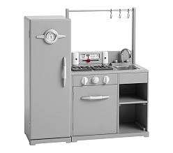 All-in-1 Retro Kitchen - Charcoal
