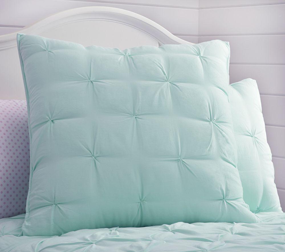 Audrey Comforter - Aqua