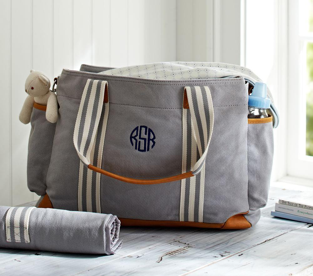 Grey Classic Mum Nappy Bag Pottery Barn Kids Au