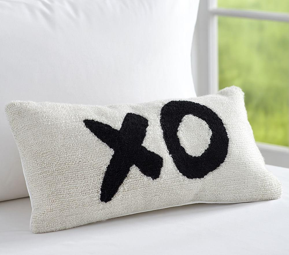The Emily & Meritt XO Cushion| Pottery Barn Kids AU