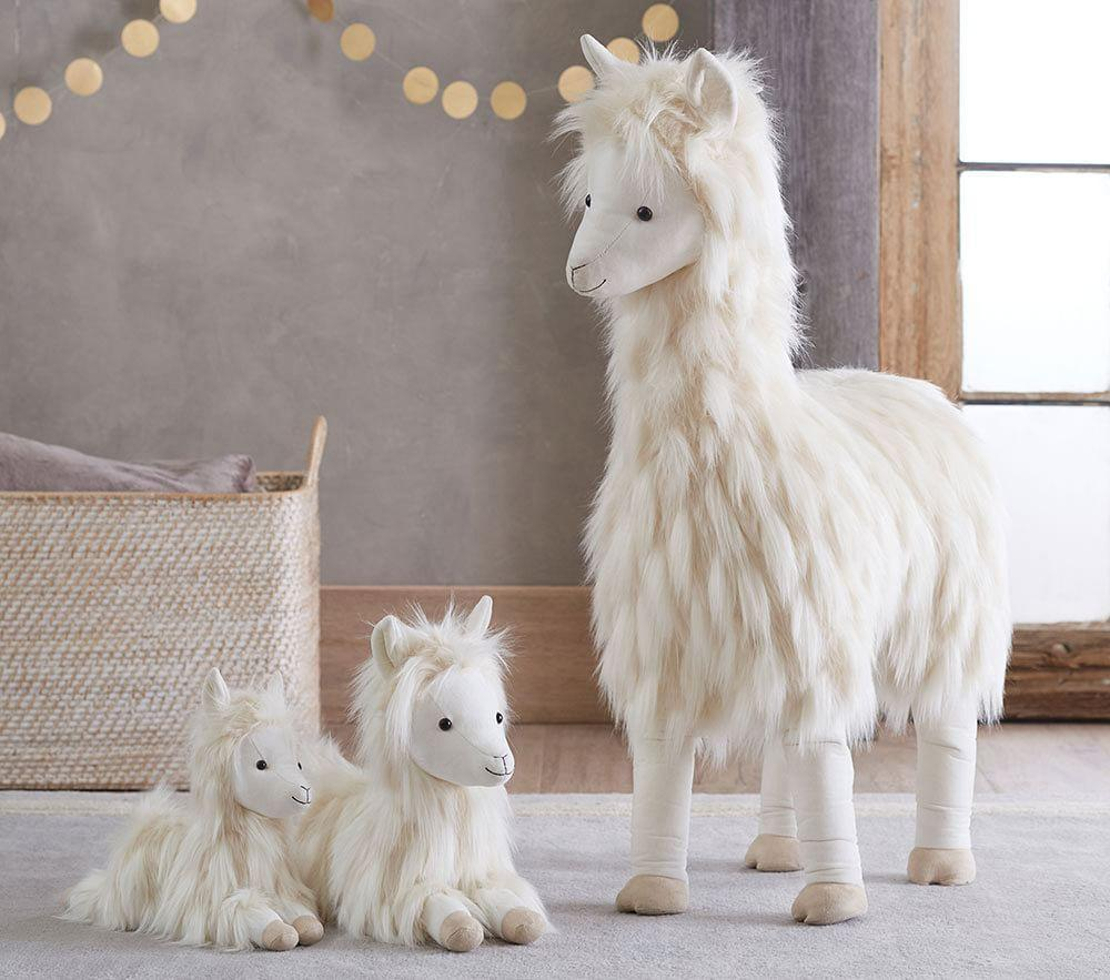 Llama Plush Collection Pottery Barn Kids