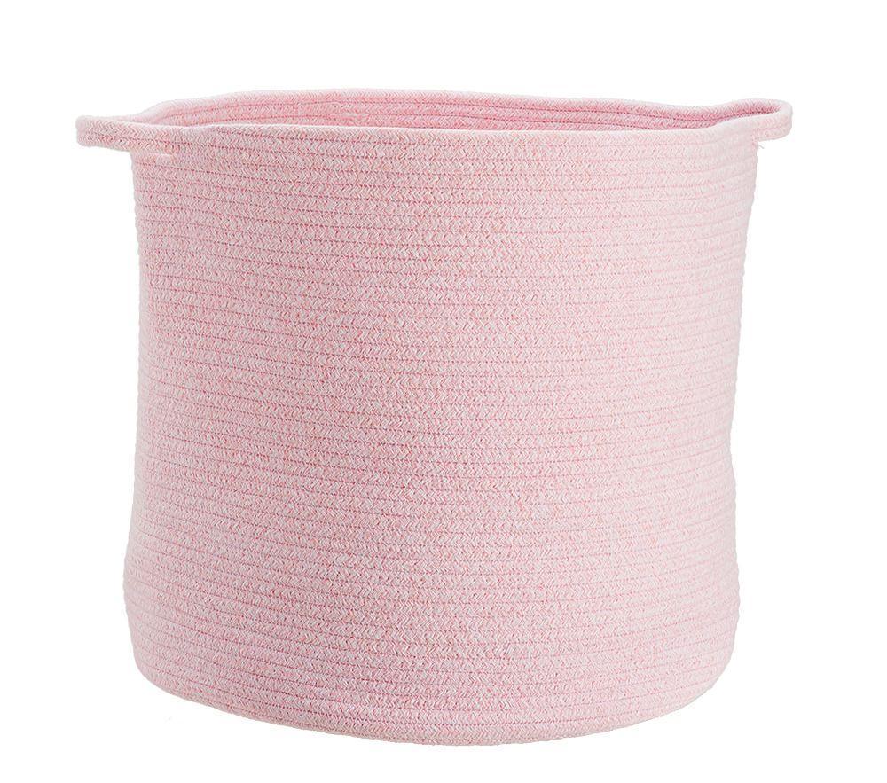Light Pink Sloan Cotton Rope Storage