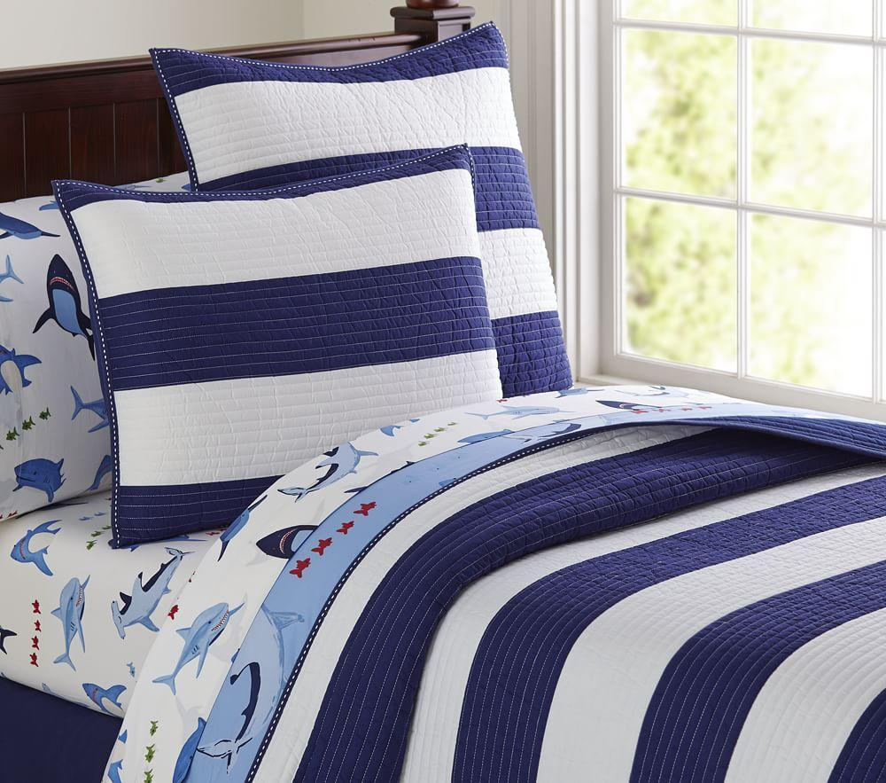 Rugby Stripe Comforter