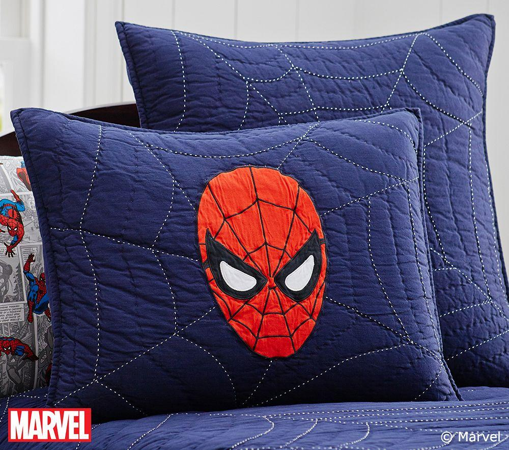 Spider Man Quilt Pottery Barn Kids