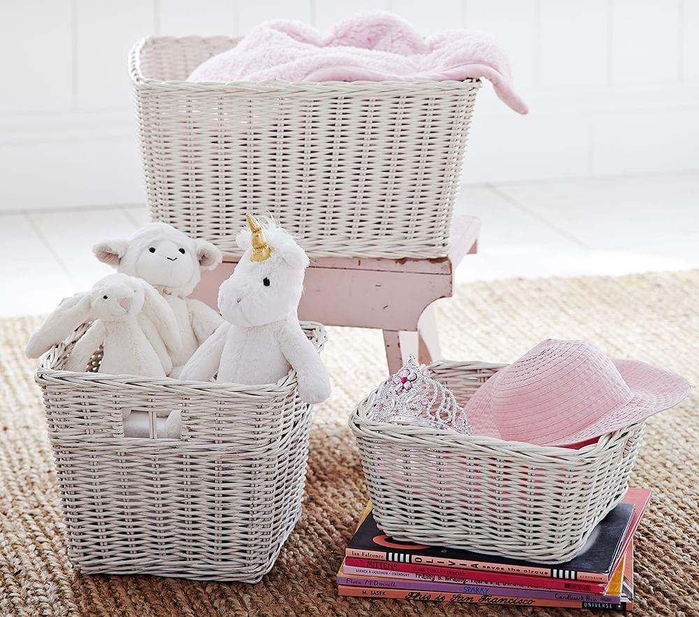 Sabrina Basket Collection Simply White Pottery Barn Kids Au
