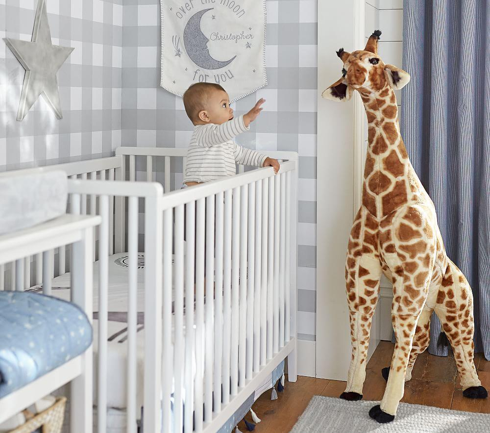 Organic Picture Perfect Giraffe Cot Fitted Sheet