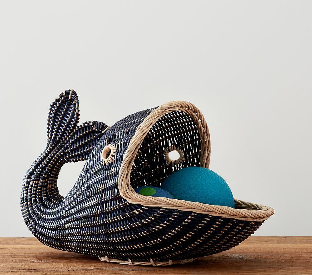 Whale Basket Pottery Barn Kids