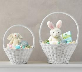 All easter baskets decorations pottery barn kids au white sabrina easter baskets negle Gallery