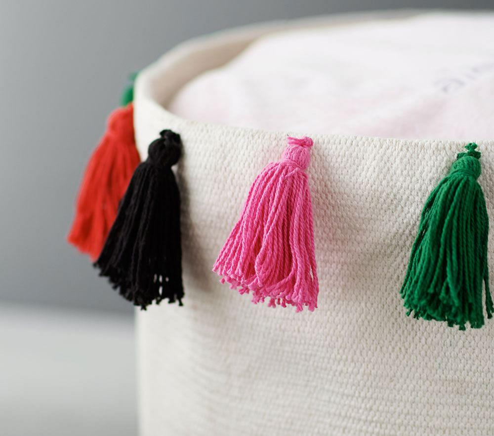 Boho Tassel Storage Collection