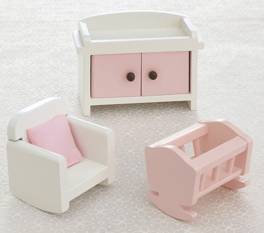Dollhouse Nursery Accessory Set