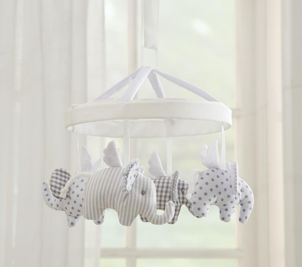 Flying Elephant Mobile
