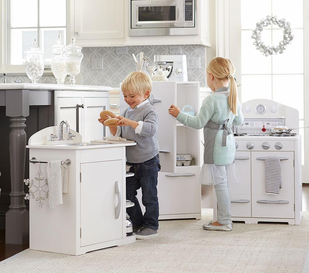 Pottery Barn Kids Kitchen: Simply White Retro Kitchen Collection