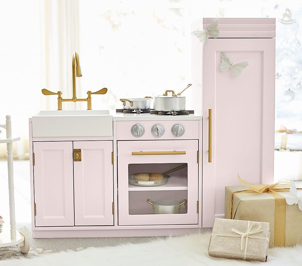Chelsea All-in-1 Kitchen - Grey | Pottery Barn Kids