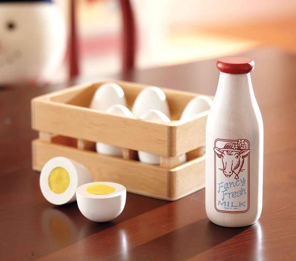 Wooden Egg Set