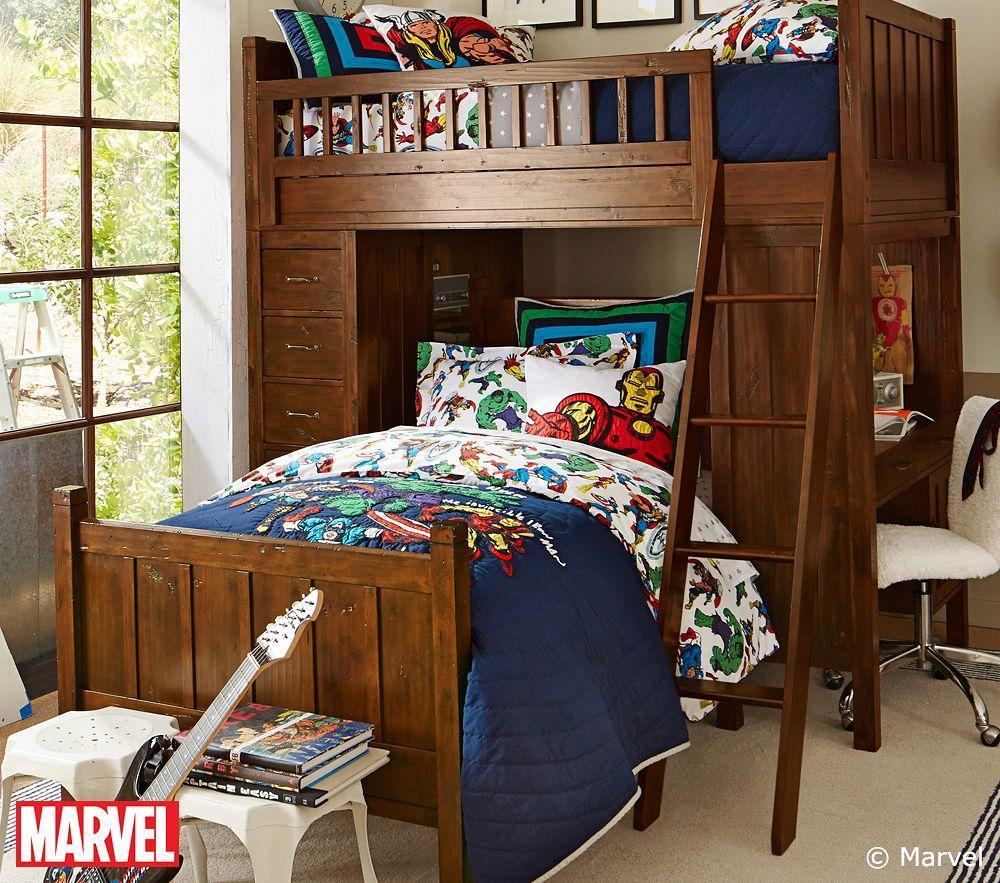 Marvel Quilt Cover Pottery Barn Kids