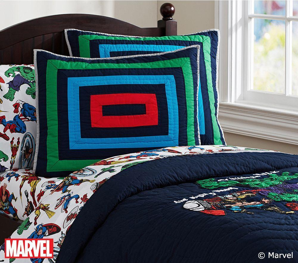 Marvel Sheet Set Pottery Barn Kids