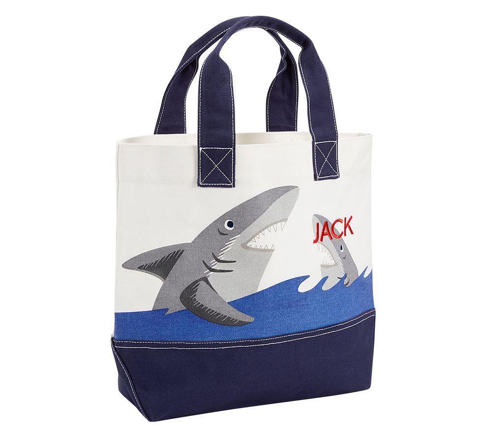 Boho Shark Icon Totes
