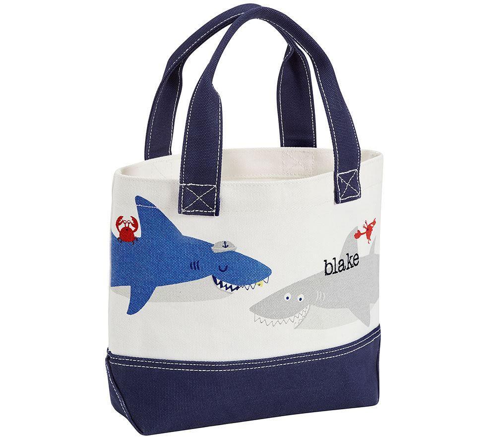 Nautical Shark Tote