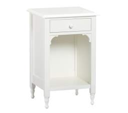 Juliette Bedside Table - French White