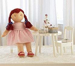 Doll Flower Table & Chairs