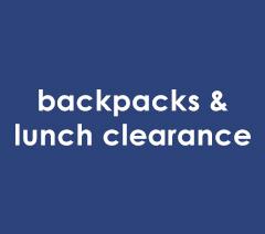 Backpacks Clearance