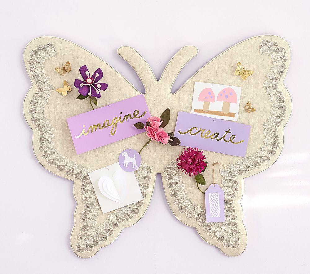 Butterfly Shaped Pinboard