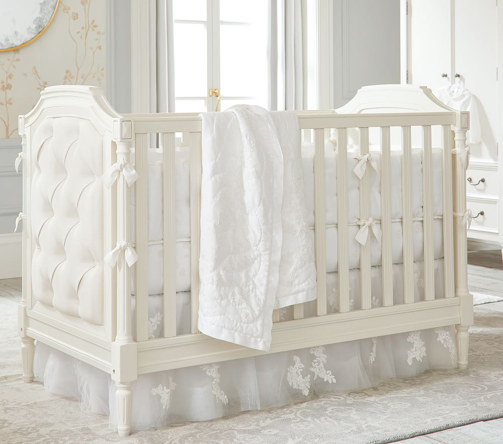 Blythe Convertible Cot - French White