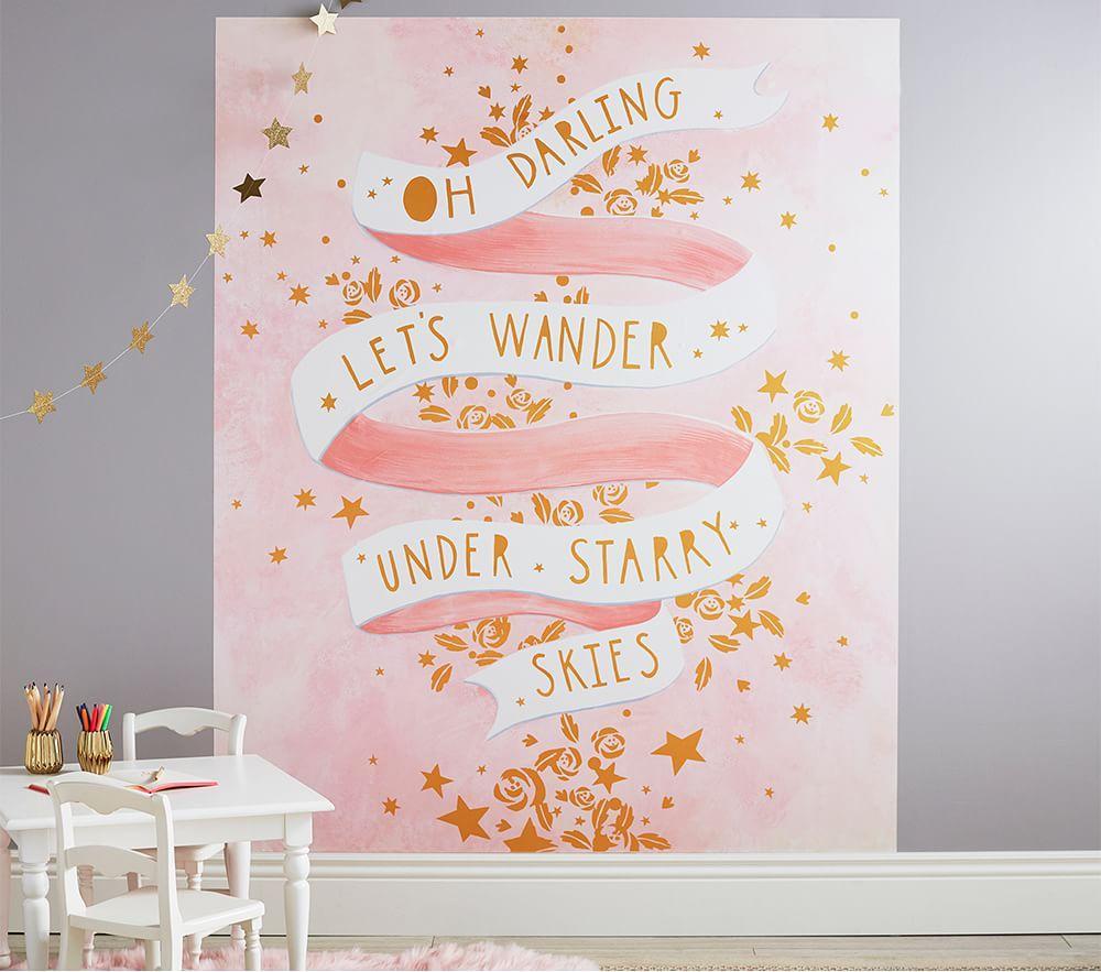 Let's Wander Mural