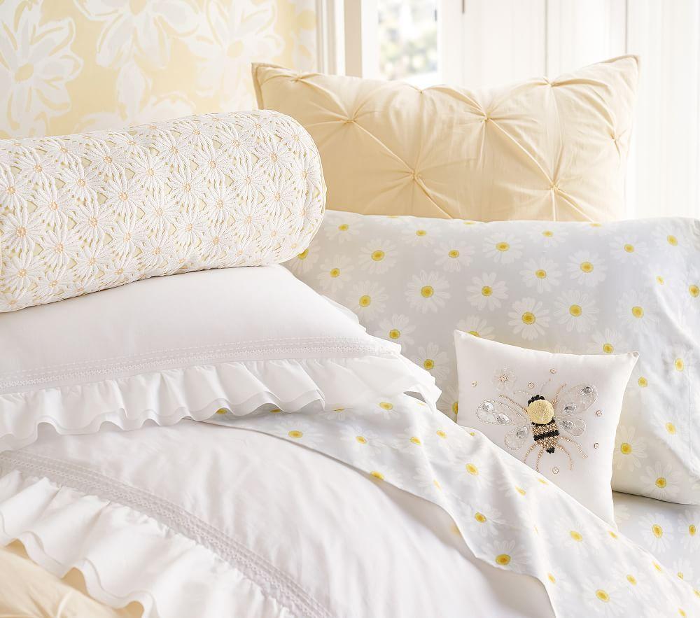 Audrey Comforter Yellow Pottery Barn Kids Au