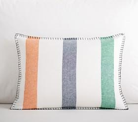 Organic Colby Stripe Cushion Cover