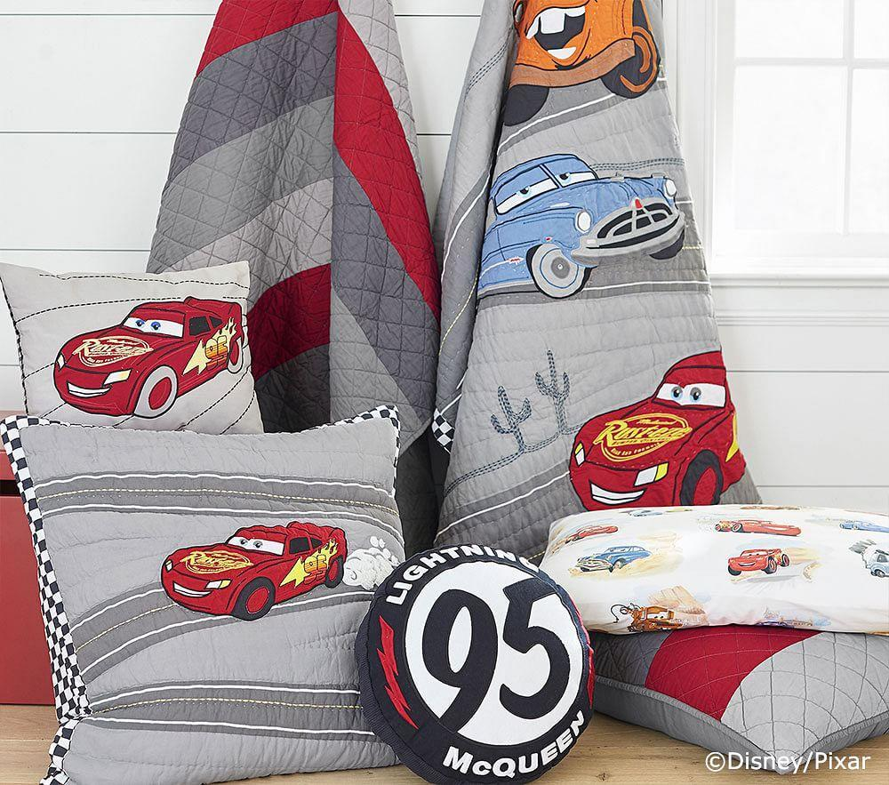 Disney&#8226;Pixar <em>Cars</em> Lightning McQueen Shaped Cushion