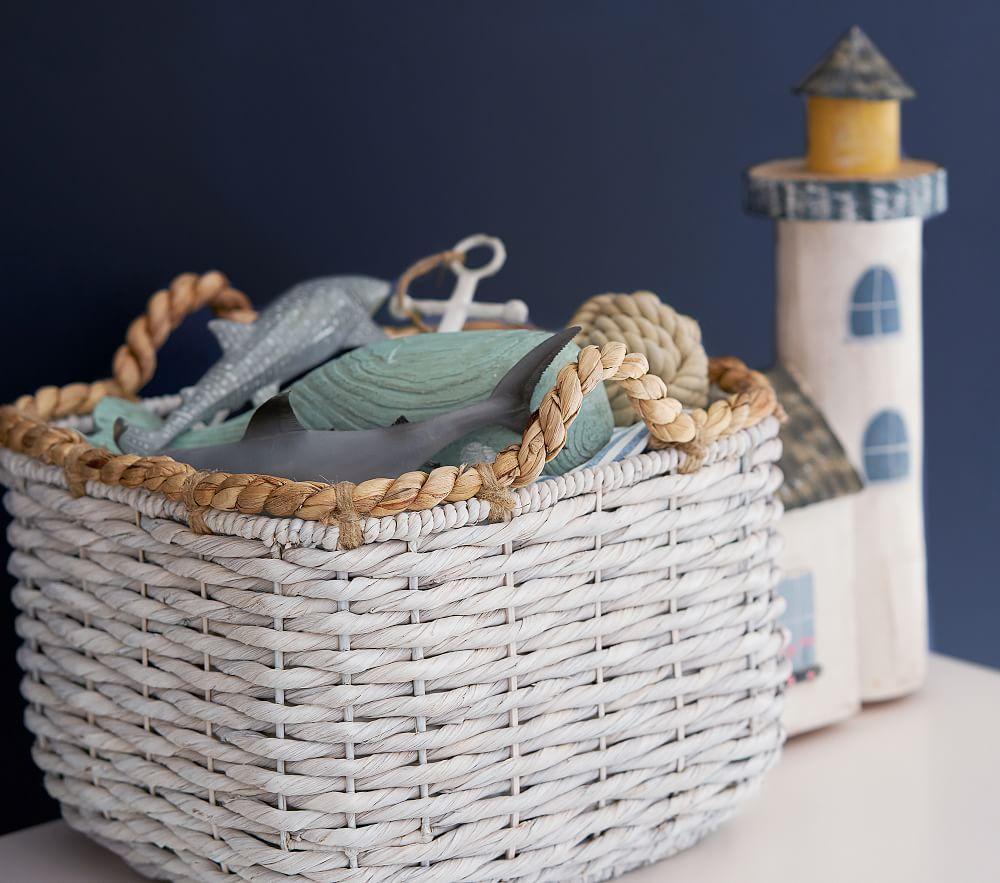 Baby Nursery Storage Baskets Baby Toy Storage Pottery