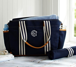 Navy Classic Mum Nappy Bag