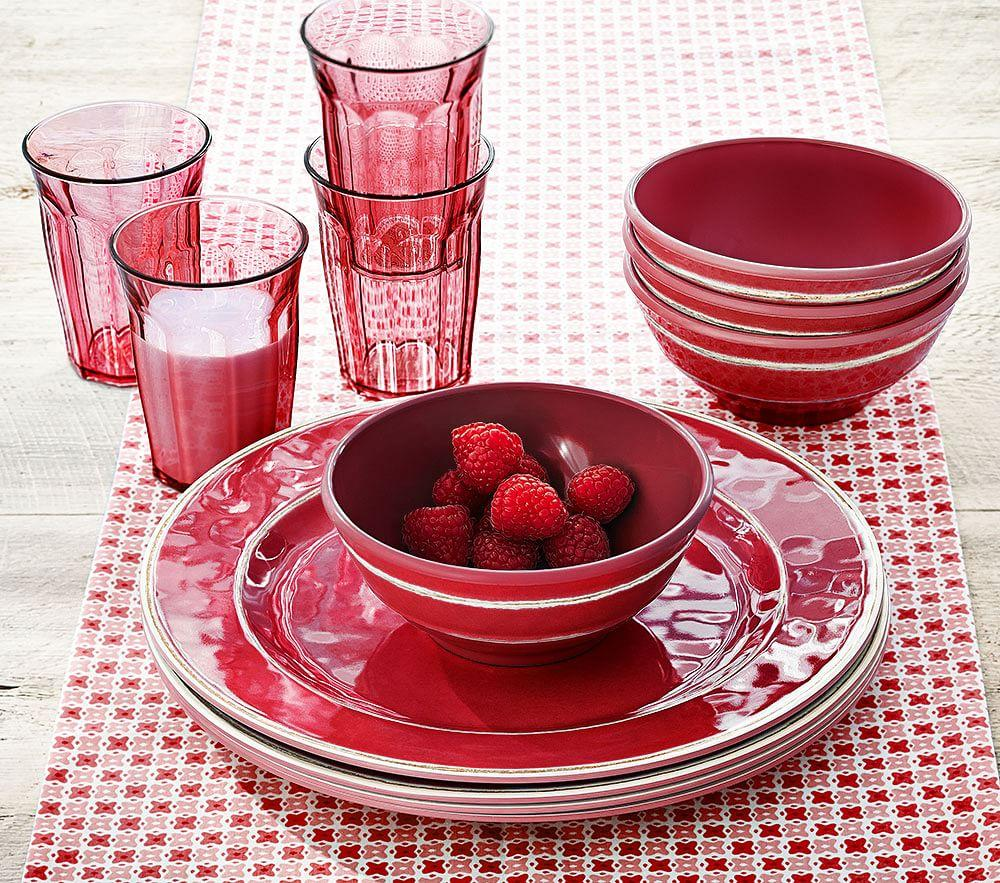 Cambria Tabletop, Red