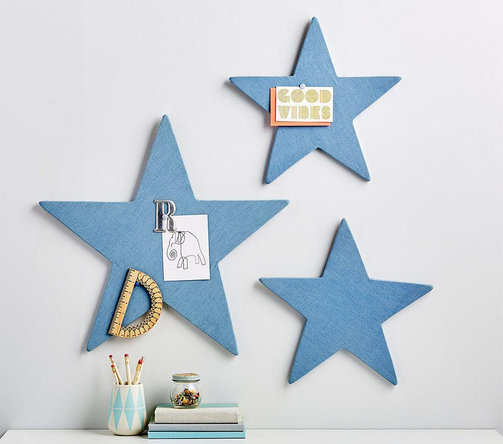 Star Pinboards Set of 3 | Pottery Barn Kids