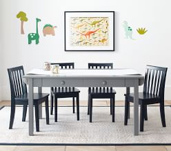 Carolina Craft Play Table, Charcoal