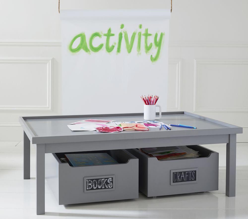 Carolina Grow with You Activity Table, Charcoal