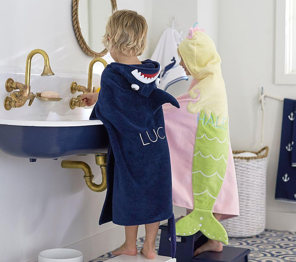 Icon Bath Wraps | Pottery Barn Kids