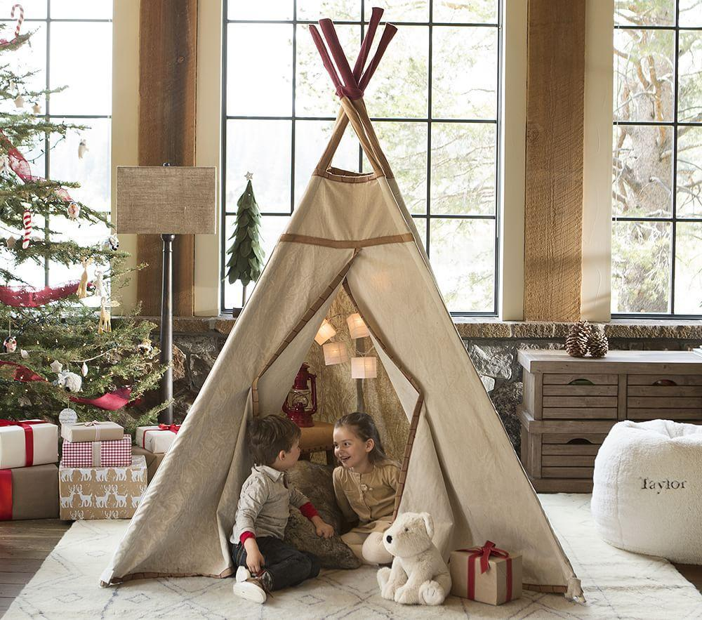 Teepee With Stitching