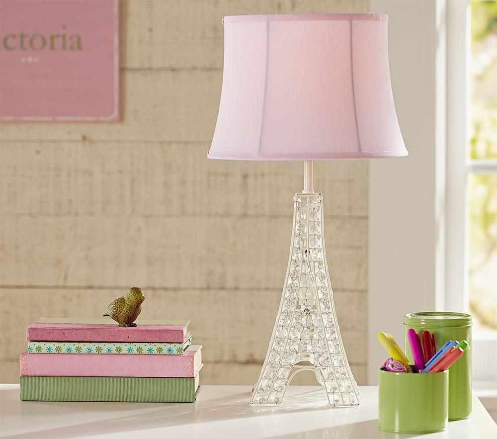 Glowing Crystal Eiffel Tower Lamp