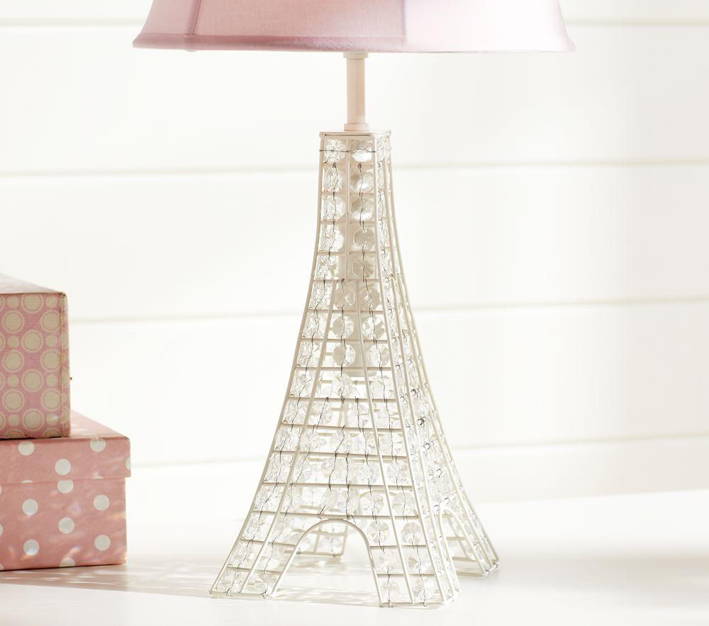 Glowing Crystal Eiffel Tower Lamp