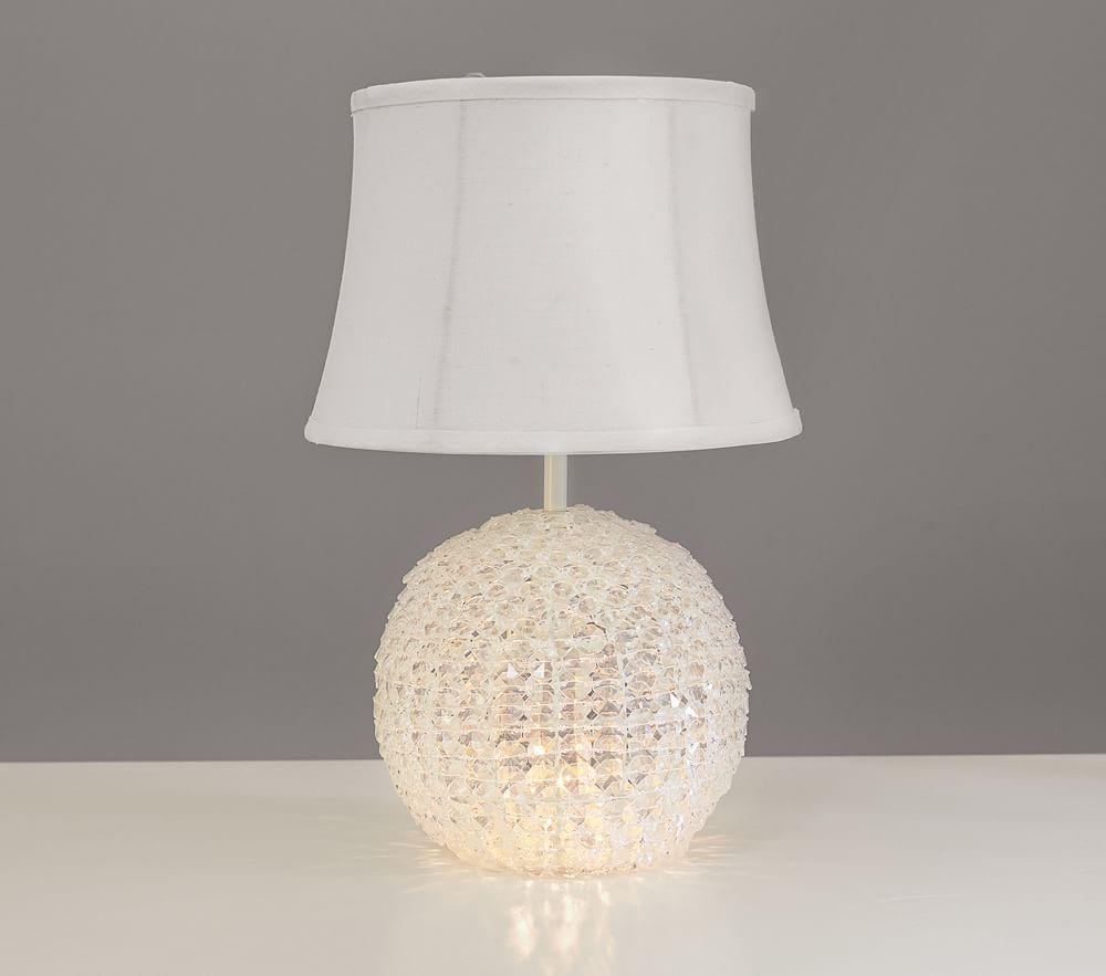 Pottery Barn Kids Lamps: Glowing Crystal Ball Lamp