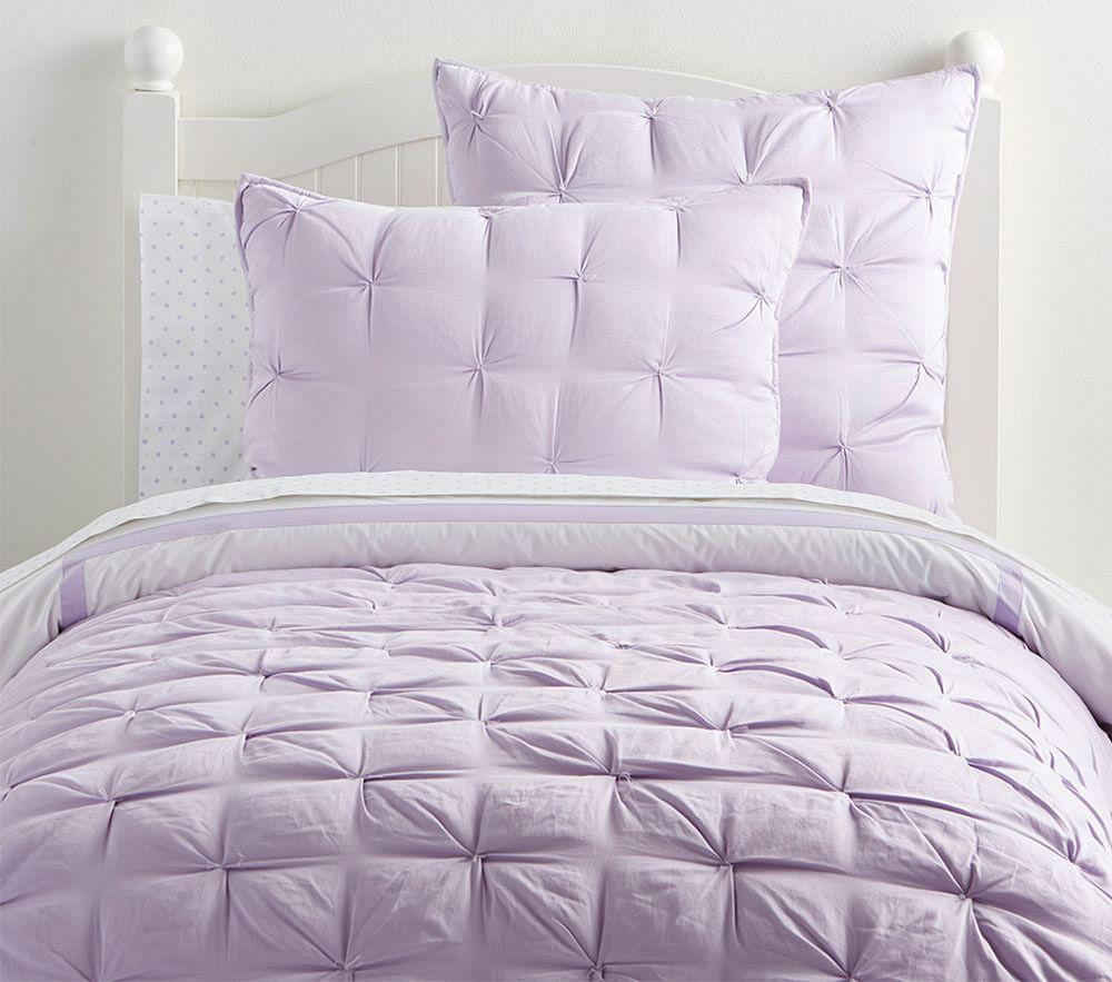 Audrey Quilted Bedding Lavender Pottery Barn Kids