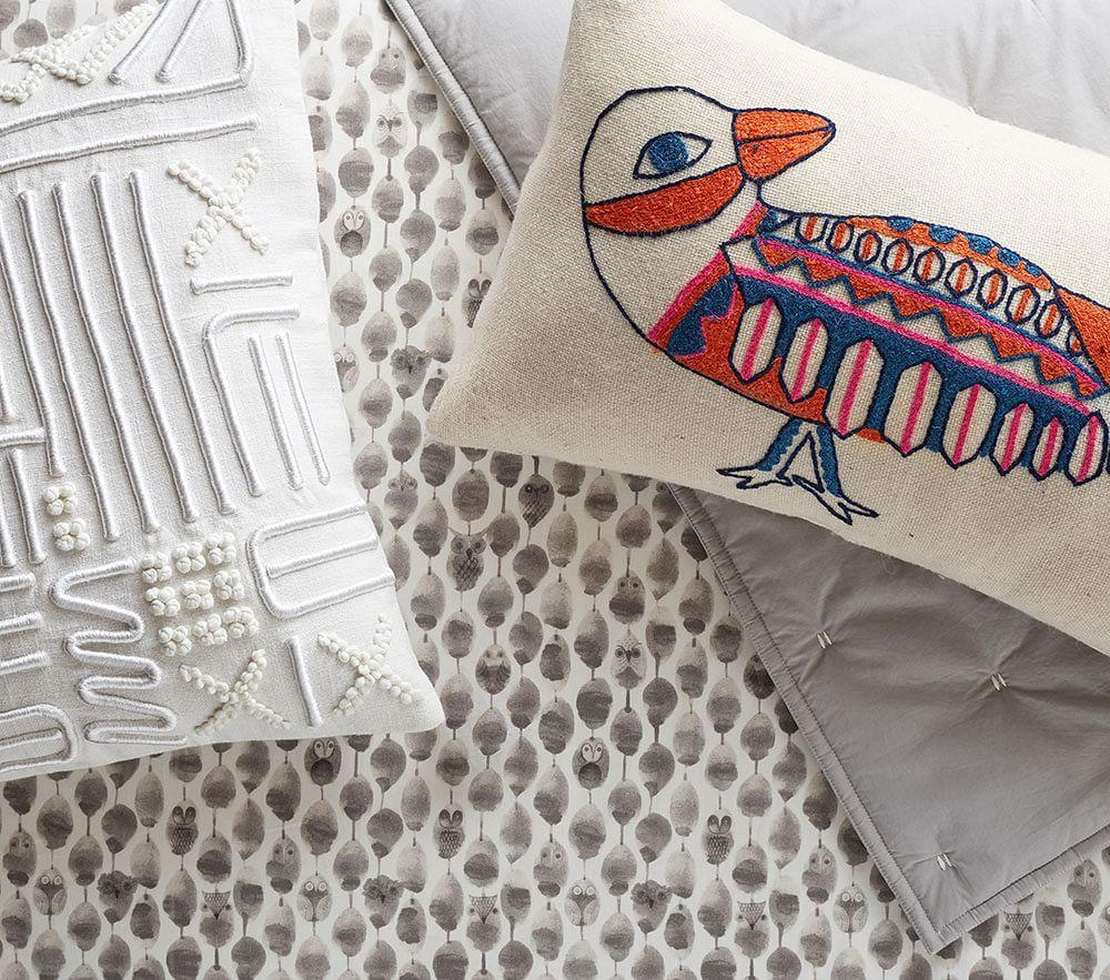 west elm x pbk Washed Cotton Baby Bed Linen