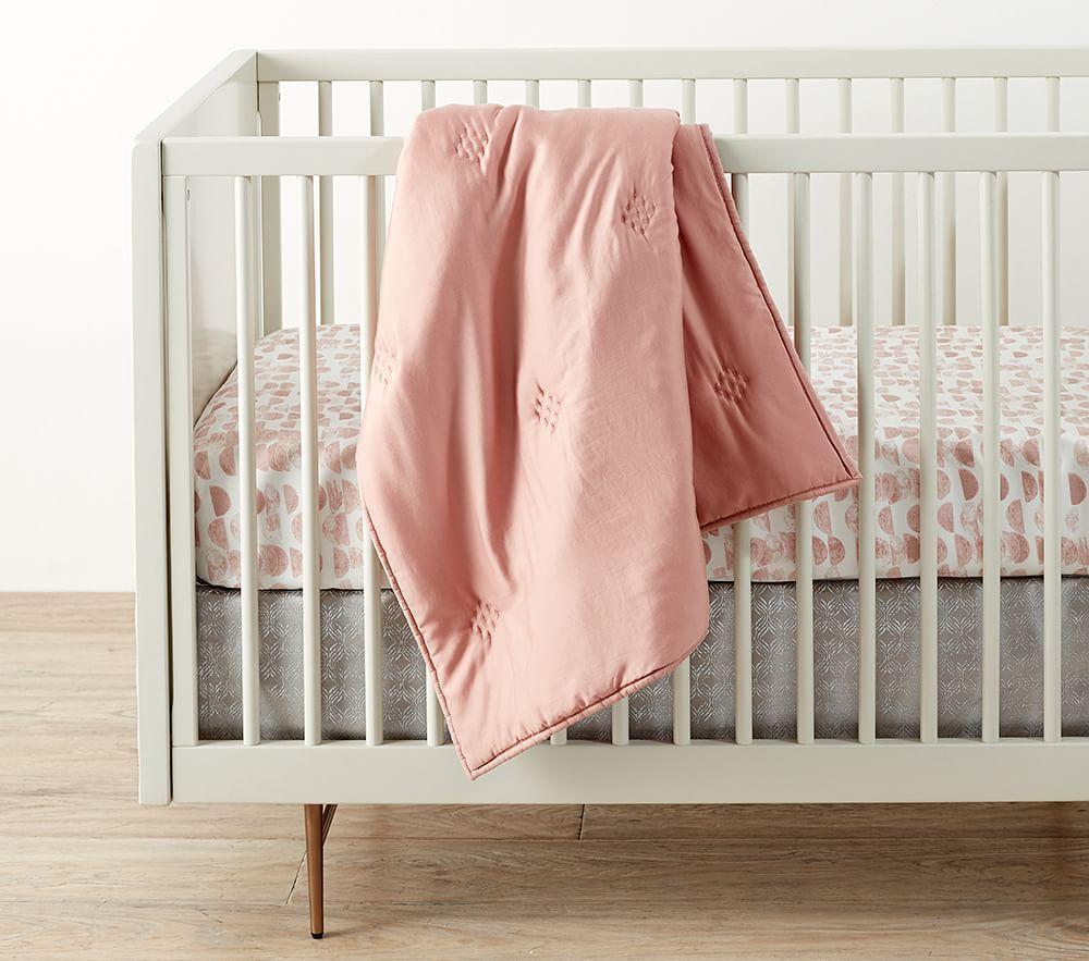 west elm x pbk Washed Tencel® Baby Bed Linen