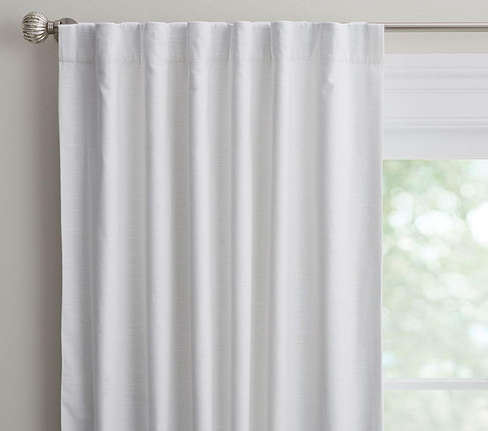 Evelyn Linen Blend Blackout Curtain Pottery Barn Kids Au